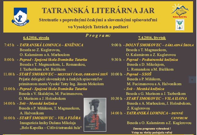 Spisovatelia-program
