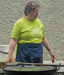Na posilnený tím kuchárov dohliadala M. Madáčiová