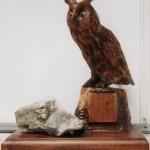 putovna sova ( vyska 40cm)130eur