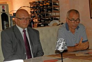 Ing. Jozef Švagerko, primátor mesta a Ing. Ondrej Kavka, predseda OZ PRE MESTO