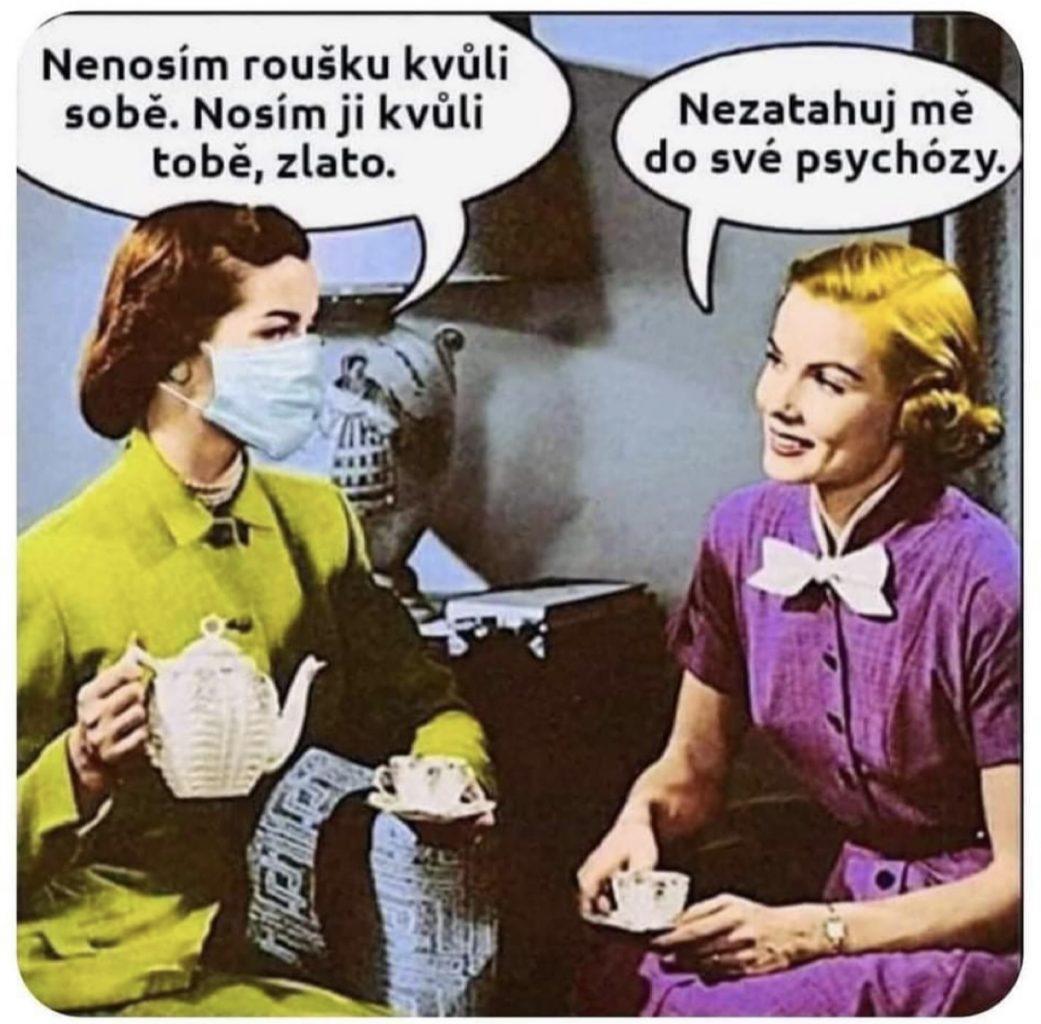 rúško psychóza