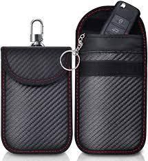 2 Pack Faraday Bag   Car Key Signal Blocking Pouch   Keyless Entry Car Keys  Case   RFID Blocker Bag for Car Security: Amazon.co.uk: Car & Motorbike